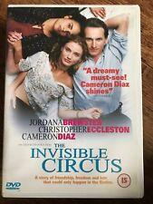 Cameron Diaz Christopher Eccleston INVISIBLE CIRCUS ~ 2001 70s Era Drama UK DVD
