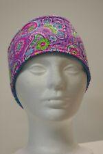 HB Pink Paisley Fleece lined adjustable headband