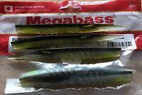 "Megabass XLayer Bass Fishing Lure Soft Plastic Bass Fishing Lure Super Giant 6"""