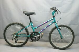 """1996 Giant Commotion Vintage 20"""" Kids Bike Small Shimano Canti Steel USA Charity"""