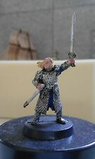 WARHAMMER-LORD OF THE RINGS-THEODEN KING OF ROHAN-METAL-PART PAINTED-LOTR- GW