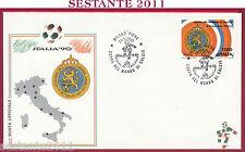 ITALIA FDC BUSTA UFFIC. ITALIA '90 COPPA MONDO NEDERLAND OLANDA 1990 MILANO U868