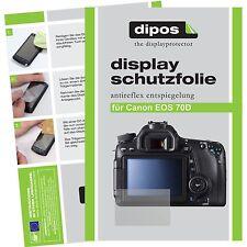 6x Canon EOS 70D Pellicola Prottetiva Antiriflesso Proteggi Schermo