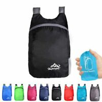 20L Ultralight Daypack Backpack Packable Foldable Waterproof Travel Bag Outdoor