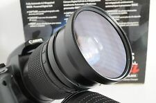 72mm Wide Angle Macro Lens For Canon Eos Digital Rebel t5i sl1 70d 5d 7d 60d New
