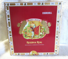 ROMEO Y JULIETA RESERVA REAL CHURCHILL CIGAR BOX   - NICE!  - BEAUTIFUL !!!