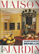 Maison & Jardin Vogue Decoration Magazine November 1994 French