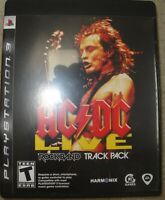 Sony Playstation 3 AC/DC Rockband Track Pack Game Manual
