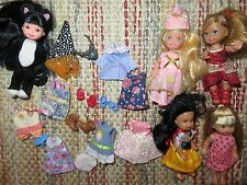 barbie little sister kelly doll clothes shoes lot  #3 black cat costume princess