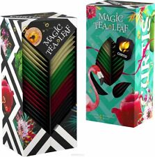 Curtis Magic Tea  Leaf Collection 4 Flavors Gift Set New Import ☕