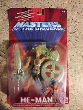 MOTU, He-Man with Sword, Shield & Ax 2002, Masters of the Universe, MOC
