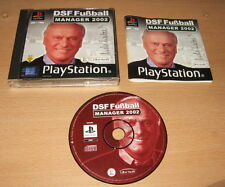 DSF Fussball Manager 2002 für Sony Playstation / PS1
