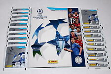PANINI UEFA CHAMPIONS LEAGUE 2012/2013 12/13 - 20 x busta Packet + album MINT!