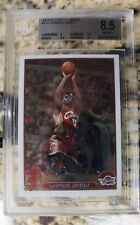 2003-2004 Topps Chrome LeBron James BGS 8.5 rookie card (two 9.5 subgrades)