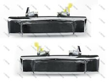 84-88 Toyota Pickup/4Runner/HiLux Outside Door Handle, Chrome, Front PAIR