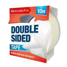Double Sided Sticky Tape Art Craft  Wrapping Sticking 48mm x 10m NEW OTL