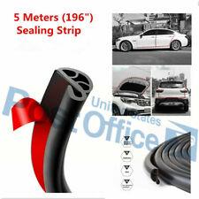 5M Universal Seal Rubber Car Door Trunk Lip Edge Protector Strip Weatherstrip #