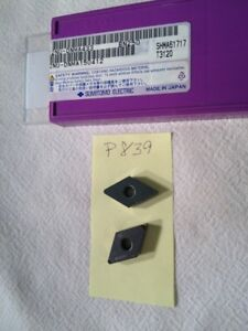 1 NEW SUMITOMO 2NU-DNGA 433 CBN CARBIDE INSERT. 2 TIP. GRADE: BN250 {P839}