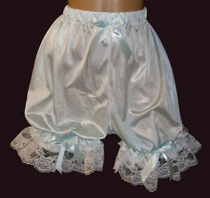 Sissy Nylon Tricot Bloomers Pettipants - Adult Sissy - Many Color - Custom Made