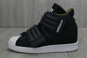 29 Rare Adidas Superstar Up 2Strap Wedge Shoes Women's Sz 7 S82794