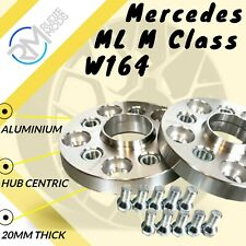 Mercedes ML M Class W164 5x112 20mm Hubcentric Wheels Spacers M14x1.5 bolts