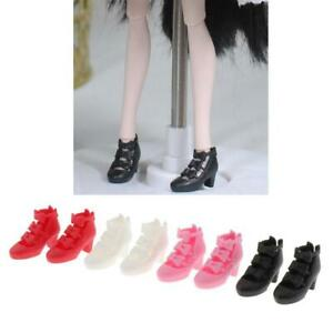 4 Pairs of Fashion BJD Girl Dolls 4 Colors Shoes for 1/6 Blythe Licca Momoko