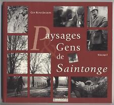 Buch Landschaften & Menschen der Saintonge Vol. 1 Guy Kunz Jacques