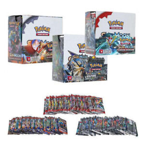 324pcs Pokemon Cards Bundle TCG Booster Box English Edition Break Point 36 Packs