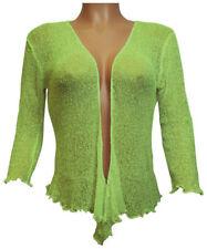 Jerséis y cárdigan de mujer de color principal verde de poliamida