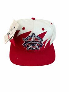 Vtg Texas Rangers All Star Game Logo 7 Athletic NWT Sharktooth Snapback Hat Cap
