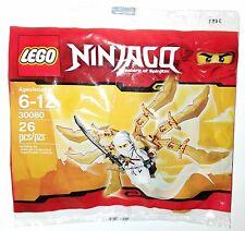 LEGO Ninjago Mini Set 30080 White Ninja Glider Polybag NEW FACTORY SEALED