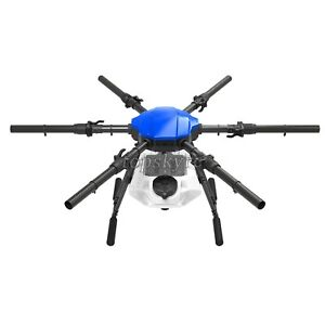 E616P 6 Axis Drone Folding Agricultural Drone Frame Wheelbase 1648MM + 16L Tank