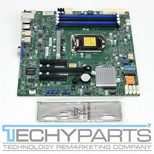 Supermicro X11SSL-F Intel C232 Xeon E3-1200 v6/v5 LGA 1151 DDR4 mATX Motherboard