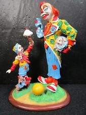 "Danbury Mint Barnum's Classic Clowns "" Cheer Up "" Very Detailed Figure"