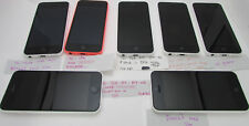 Lot of 7 Apple iPhone 5c - (6) White (1) Pink A1532/A1456 - For Parts or Repairs