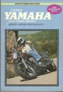 YAMAHA XS650,XS1,XS1B,XS2,TX650 CLYMER WORKSHOP MANUAL 1970-1978