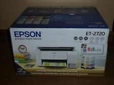 🆕️ Epson ECOTANK ET-2720 Wireless All-In-One Supertank Color Printer - White