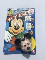 vintage Lakeside Mickey Mouse HEROHEADS GAME MOC sealed