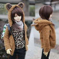 New 1/4 BJD SD LUTS DOLLFIE PULLIP Clothes Lotita Brown Bear Coat/Outfit For