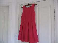 Ladies Dress Design Ice Fashion Size M Colour Dark Pink Polyester 94% Spandex 6%