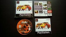 MOBIL 1 RALLY CHAMPIONSHIP : JEU Sony PLAYSTATION PS1 PS2 courses COMPLET suivi
