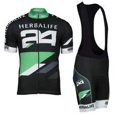 Herbalife Cycling Short Sleeve Jersey and Bib Shorts Kit Mtb Jersey & Bib Pants