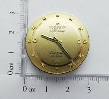 X176 - Movimento Chronometre Zenith Captain de luxe 2542PC Dial gold 18kt 750