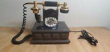 Vintage Western Electric Rotary Phone Wood