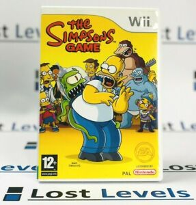 Wii - The Simpsons Game - Same Day Dispatched - Boxed - Nintendo