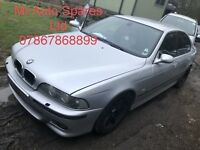 BMW E39 5 Series M5 silver breaking spare parts s62b50 Facelift