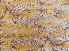 WtW Fabric Pattern Mod Abstract Metallic Wave Swirl Blender Background BTY Quilt
