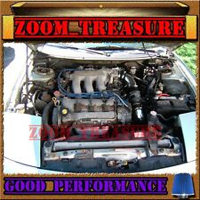 BLACK BLUE 1993-1997 FORD PROBE GT/MAZDA MX6/626 2.5 2.5L V6 COLD AIR INTAKE KIT