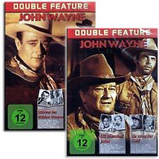 4 John Wayne Western Klassiker in 2 DVD Boxen - Neu
