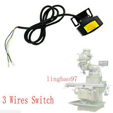 SET Mill Machines Parts LIMIT SWITCH ASSEMBLY SERVO POWER FEED TYPE 3 Wires